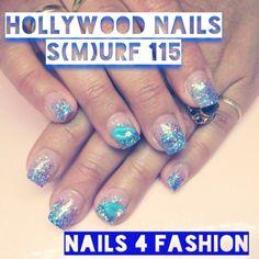 Hollywood Nails surf 115 @ Nails 4 Fashion