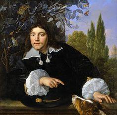 Bartholomeus van der Helst - Zelfportret uit 1655