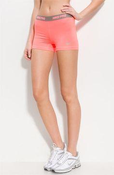 Nike pros #coral #grey