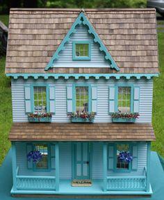 dollhouse- like the fake flowers