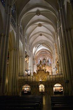 A l'intérieur de la cathédrale de Tolede