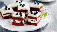 Copyright: Otavamedia. Kuva: Mirva Kakko. Red Velvet, Cheesecake, Desserts, Food, Warm, Tailgate Desserts, Deserts, Cheesecakes, Essen