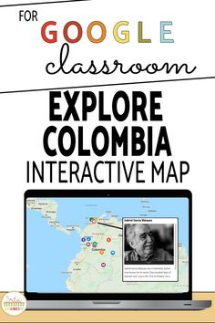 Take your students to a virtual field trip to Colombia with Google My Maps. On this tour your students will be able to explore, look around and watch videos and see pictures of delicious food, musicians, authors, and other culture in the country of Colombia! Learn about the history, language, and traditions of the country in English! Your middle school and high school students will love this fun activity! #spanishclass #secondaryspanish Trip To Colombia, Middle School Spanish, Map Activities, Spanish Lesson Plans, Spanish 1, Spanish Classroom, Interactive Map, High School Students, Graphic Organizers