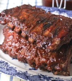 BBQ Pork Ribs | 9 fantastic Father's Day recipes from Gooseberry Patch