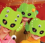 Alien masks - Maschere Aliene