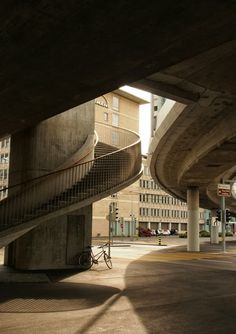 Escher Wyss Platz Switzerland, The Past, Stairs, Landscape, City, Places, Staircases, Photography, Traveling