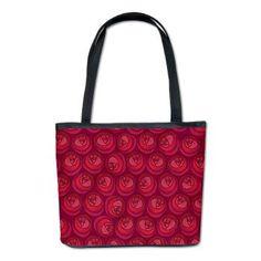 Mackintosh Roses Art Nouveau Pattern Bucket Bag