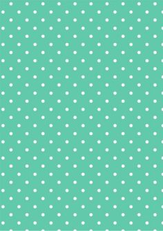 Papel deco fans_polka mint-melinda by Marta Roig via slideshare