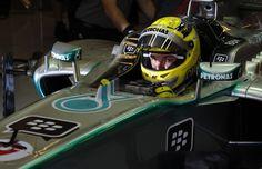 Formel 1 - MERCEDES AMG PETRONAS, Großer Preis von Abu Dhabi. 01.-03.11.2013. Nico Rosberg