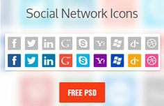 Social Network Icons Ultimate Collection