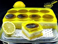 Cytrynowiec wg Ewy (bez pieczenia) Kobieceinspiracje.pl Polish Recipes, Polish Food, Sweets Cake, Homemade Cakes, Ale, Sweet Tooth, Cheesecake, Gluten Free, Pudding