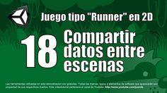 18 - Compartir datos entre escenas - Tutorial Unity 2D en español