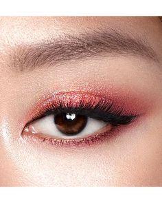 Asian Eyeshadow, Asian Eye Makeup, Makeup Eye Looks, Eye Makeup Art, Pink Makeup, Smokey Eye Makeup, Eyeshadow Makeup, Makeup Inspo, Makeup Inspiration