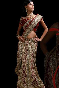 My ideal indian wedding lengha choli/sari