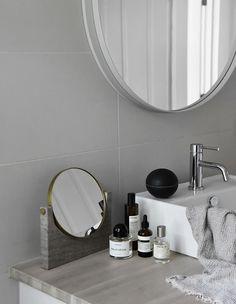 MENU   Pepe Marble Mirror in Elisabeth Heiers home in Stockholm