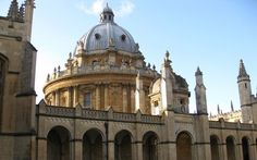 View of the Radcliffe Camera from All Souls College