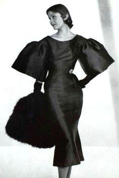 Robe de cocktail Marc Bohan, 1953