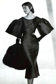 Robe de cocktail Marc Bohan, 1953