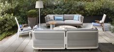 KETTAL MESH - 3-Seater sofá
