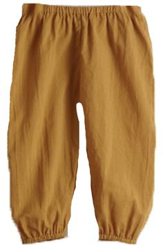 Puff Gold Pants