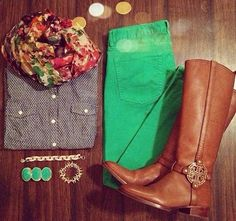 Green jeans :)