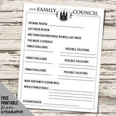 A Year of FHE: M. Russel Ballard's FAMILY COUNCILS Free Download!
