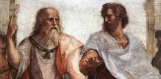 What You Should Know about Plato, One of the Most Important Philosophers: Fresco of Plato and Aristotle, from Scuola di Atene, by Raphael Sanzio. Socrates, Michelangelo, Art Ninja, School Of Athens, France Culture, High Renaissance, Renaissance Paintings, Critical Thinking Skills, Design Thinking