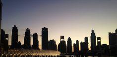 The fountains of Dubai