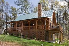 Country Style Log Home Is A Rustic Inspiration