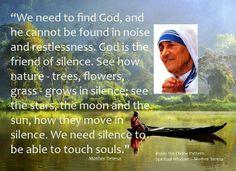Meditation Sunday: Listen to the sound of silence.  Photo: Pinterest
