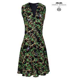 Vestido da Coleção Andrea Marques para C.