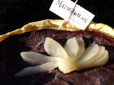 Tarte au chocolat et aux poires - Recette de cuisine Marmiton : une recette
