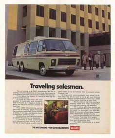 1975 GMC Advertisements   GMC Motorhome Traveling Salesman Photo (1977)
