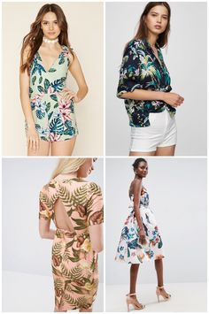 Wishlist:estampado tropical