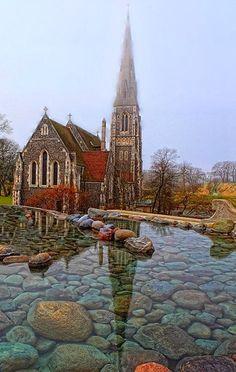 St Albans Church, Kent, UK.