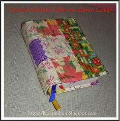Tutorial Quilted Tafsir Al-Quran Cover