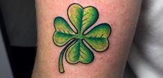 40  Lucky Four Leaf Clover Tattoos