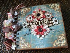 Good Times Mini Album  jenungerfinearts.etsy.com