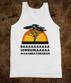 Lion King! haha someone please get this for me (in the grey color)
