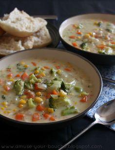 Veggie pot pie soup - Amuse Your Bouche