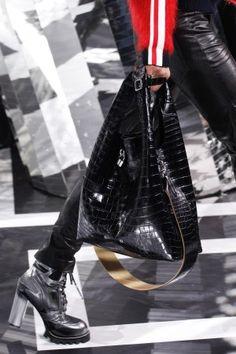 Louis Vuitton Black Crocodile Hobo Bag - Fall 2016