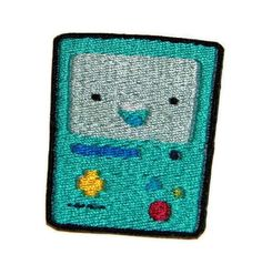 Iron on Adventure Time BMO embroidered patch by ThatsWhatINeeded, $6.00