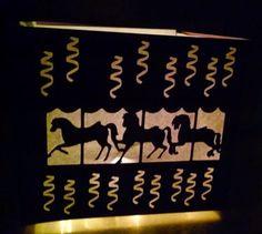 DIY Carousel centerpiece by hilemanhouse on Etsy, $2.95