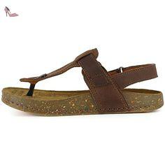 Chaussures à bout ouvert Art marron femme 4w382