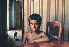 Steve McCurry FRANCE. Marseilles. 1989. Gypsy Boy.