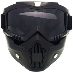 08eba94e074 The black gray sand-proof motocross road riding helmet goggles are created  with holes on both sides to guarantee that the internal air circulation.
