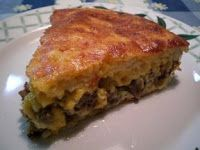 Cheeseburger Pie is easy and tastes great. It's good for dinner but with sausage it's perfect for breakfast. This is another dish where you...