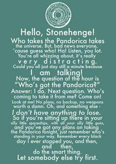 Pandorica speech matt smith doctor who