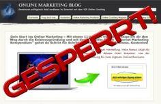 Geschützter Online Marketing Blog