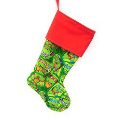 Teenage Mutant Ninja Turtles Stocking Christmas by ChristmasCreate ...
